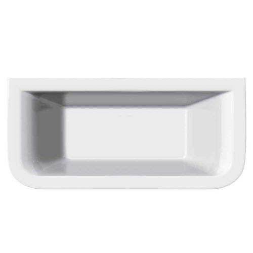 Delta D-Shape 1700mm x 750mm Double Ended Bath & Wrap Around Bath Panel